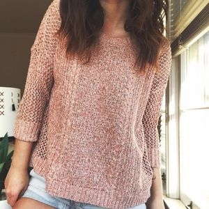 Madewell Marled Plaza Pullover Sweater sz S